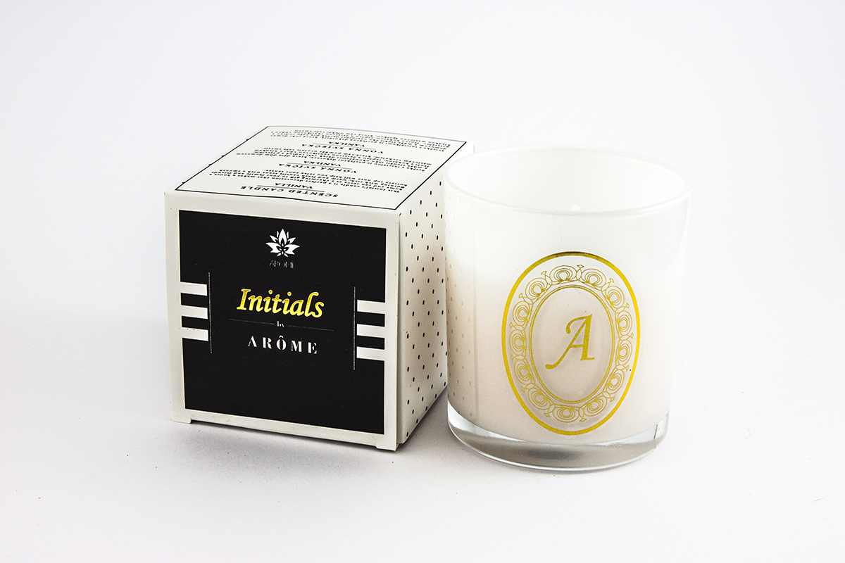 Initials Candle - letter A