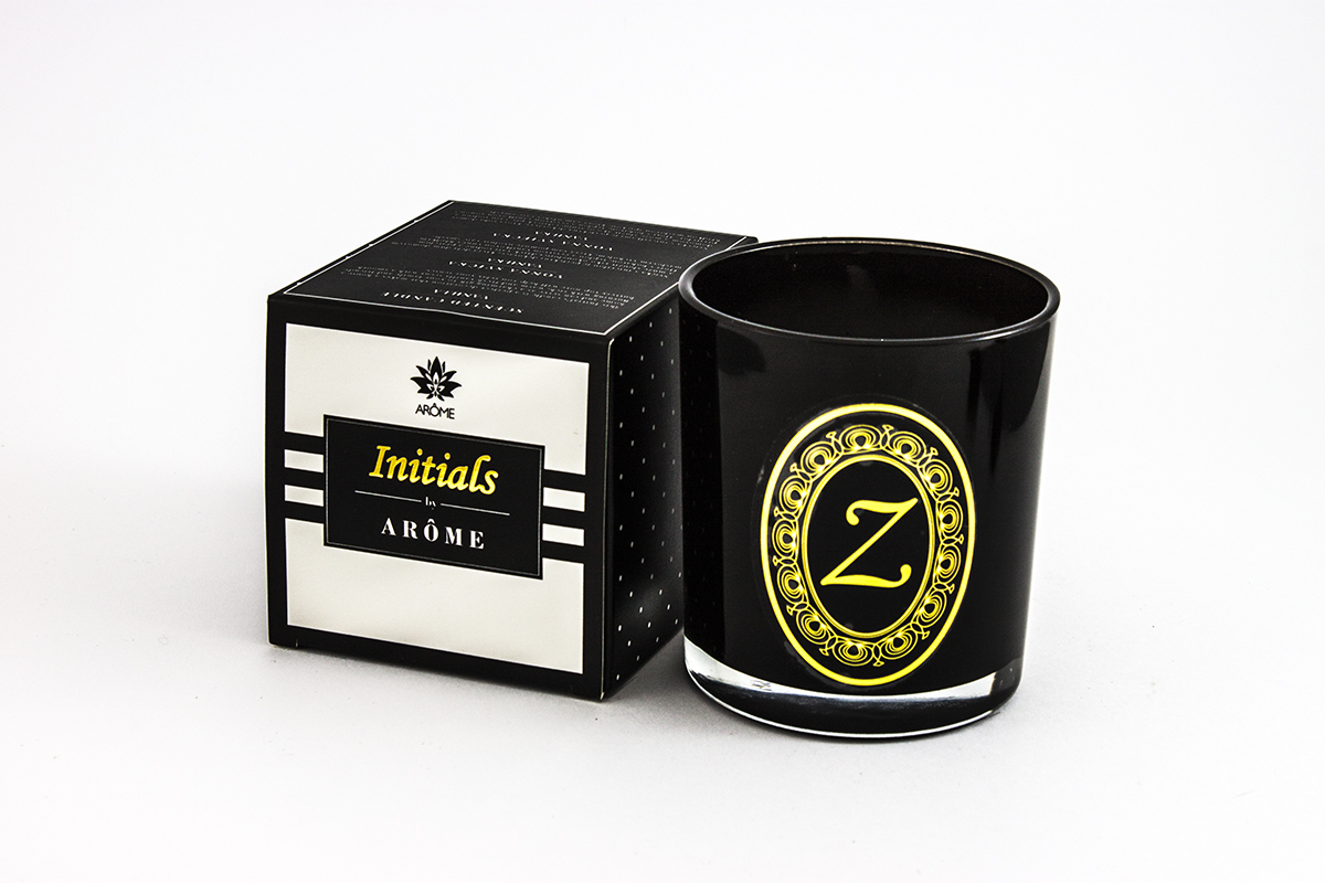 Initials Candle - letter Z